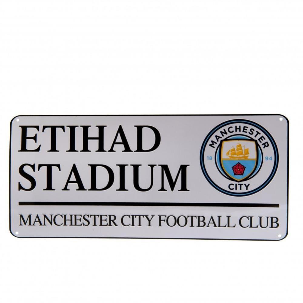 Plechová ceduľa Manchester City