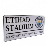 Plechová cedule Manchester City