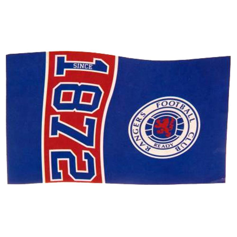 Vlajka Glasgow Rangers Est. 1872