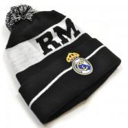 Zimná čiapka Real Madrid s výšivkou