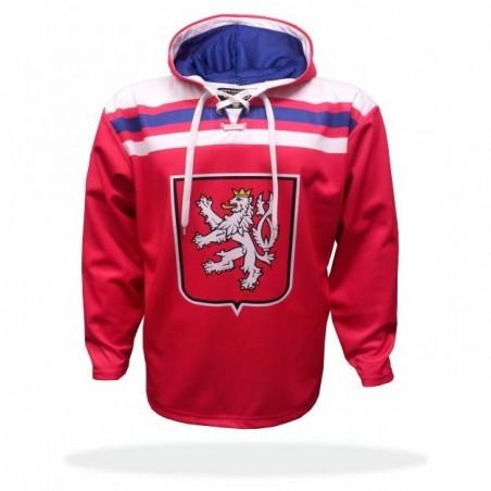 Retro mikina ČR červená