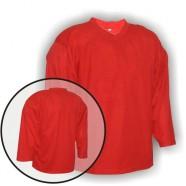 Hokejový rozlišovací dres červený