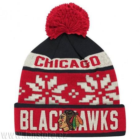 Zimná čiapka Chicago Blackhawks Snowflake