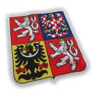Tištěná nášivka znaku České republiky