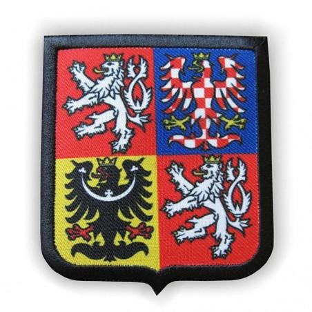 Nášivka státní znak České republiky menší, obšitá lemem
