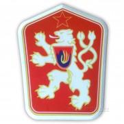 Nášivka znak ČSSR kombinovaná