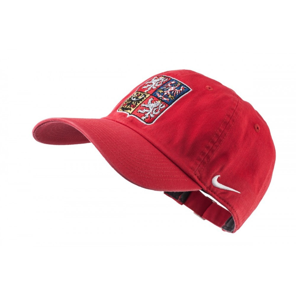 Kšiltovka Nike Česká republika červená