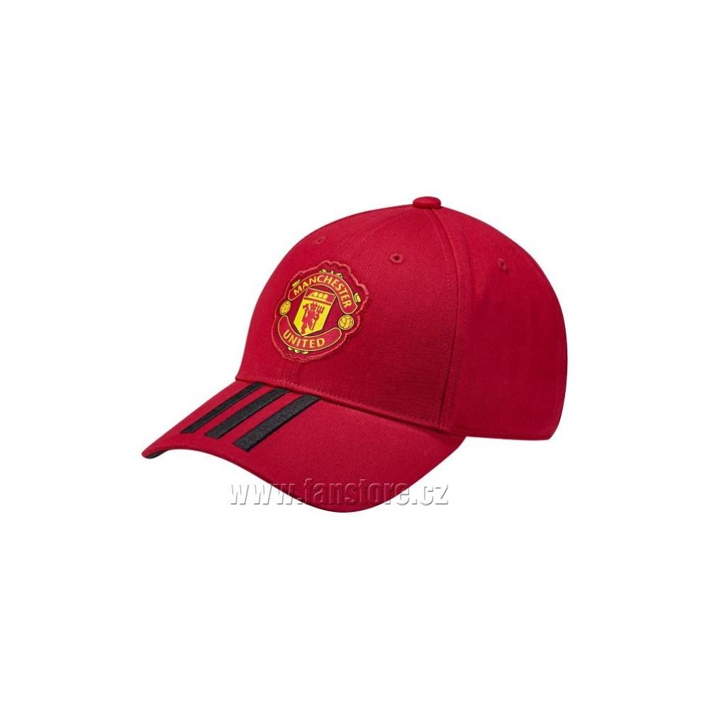 Kšiltovka Adidas Manchester United červená