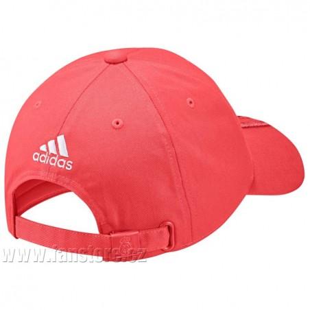 Kšiltovka Adidas Real Madrid 3SC červená - záď