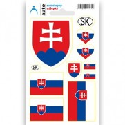 Fan set Slovensko 2 - sada samolepiek