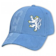 Kšiltovka CZECH světle modrá - lev 604e40993b