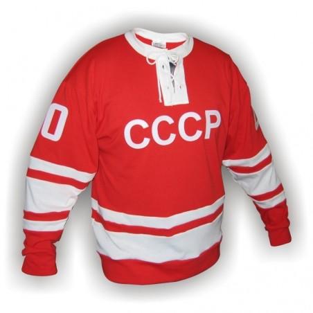 Dobový dres SSSR  červený