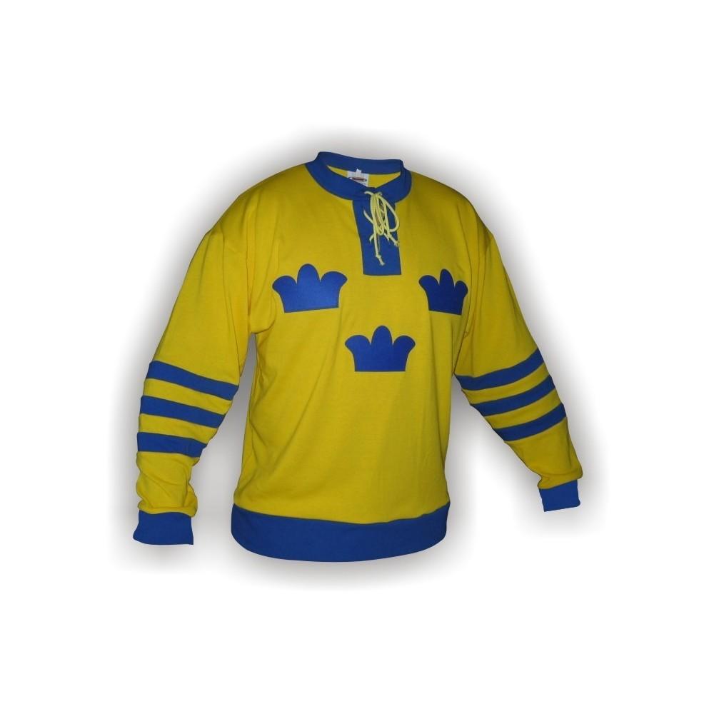 Dobový dres Švédsko žlutý