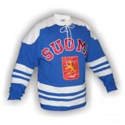 Dobový dres Finsko modrý