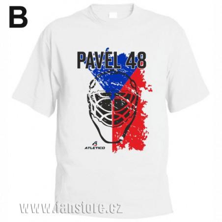Športové tričko Fínsko s hokejovým motívom maska