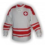 Dobový dres Švýcarsko bílý