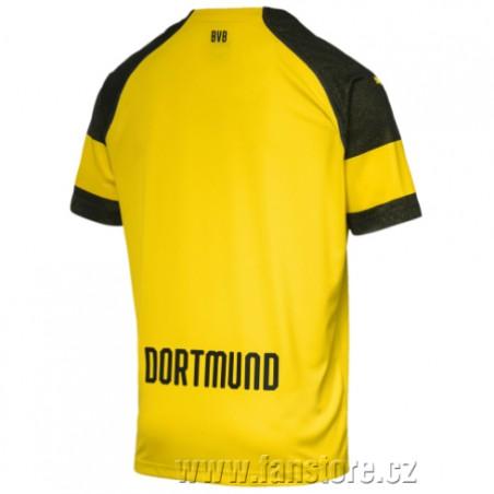 Dres Puma Borussia Dortmund, chrbát