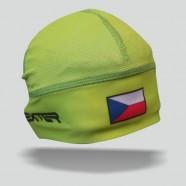 Sportovní čepička ČR zelená