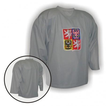 Hokejový dres Camp ČR šedý, brankár