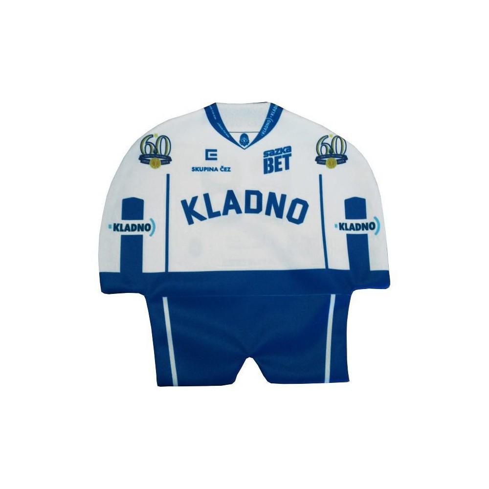 Minidres SONP Kladno biely, 1959-2019