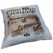 """Polštářek SONP Kladno """"Titul 1958"""""""