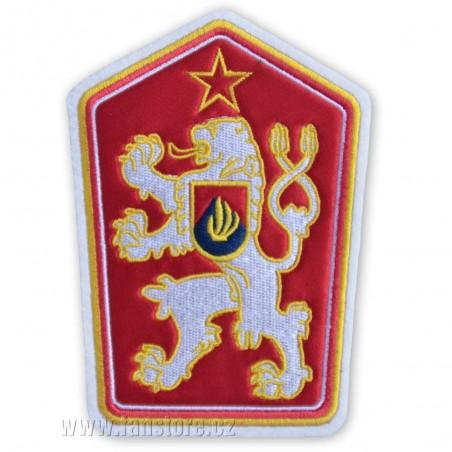 Nášivka štátny znak ČSSR