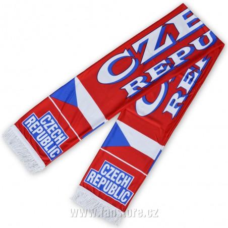 Šál Czech republic športový, letní