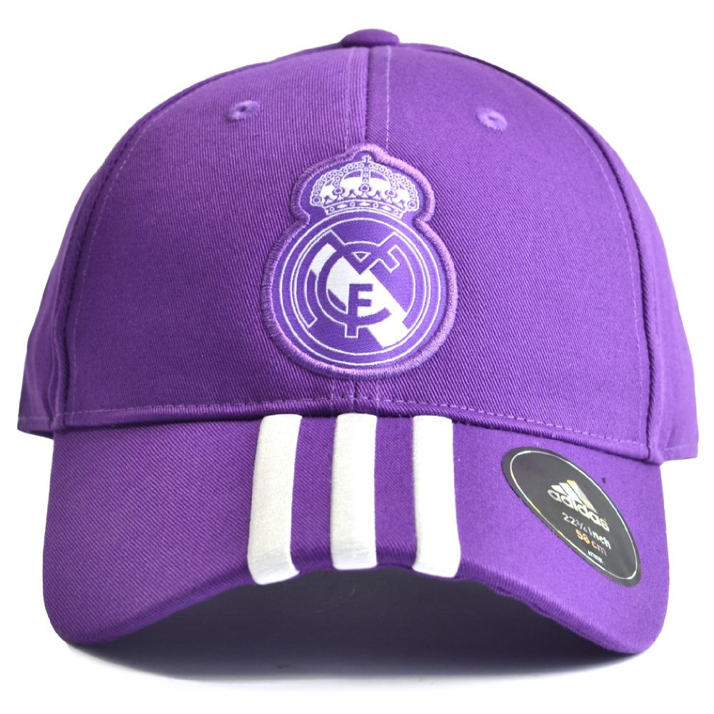Kšiltovka Adidas Real Madrid 3SC purpurová
