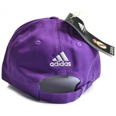 Kšiltovka Adidas Real Madrid 3SC Purple - záď