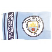 Vlajka Manchester City Wordark Stripes