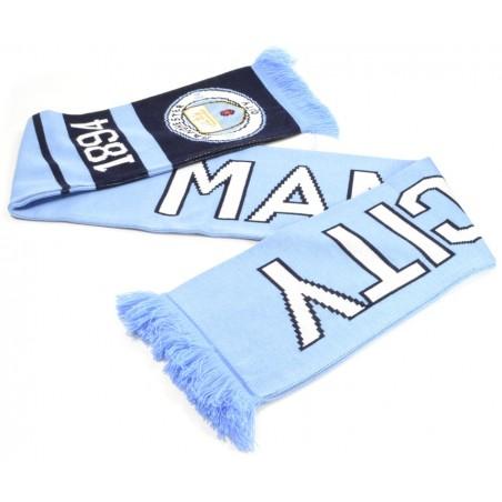 Šál Manchester City Nero