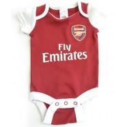 Kojenecké body Arsenal FC červené