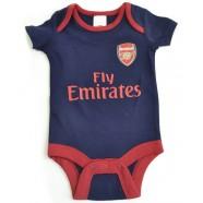 Kojenecké body Arsenal FC modré