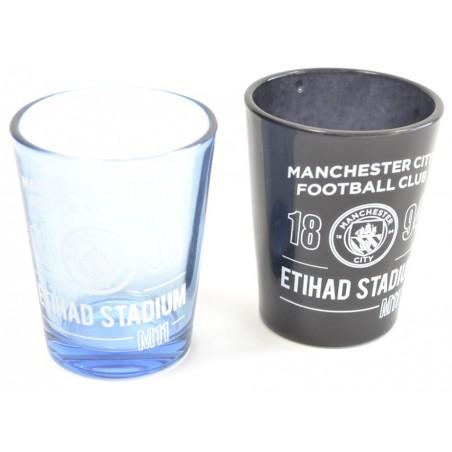 Sada pohárikov Manchester City