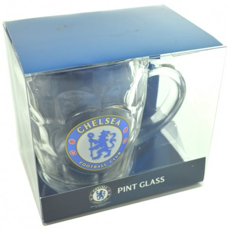 Půllitr FC Chelsea v blistru