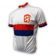 Cyklodres RETRO ČSSR bílý. Cyklistický ... 47f72d315d