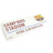 Plechová cedule FC Barcelona