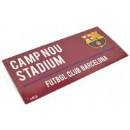 Plechová ceduľa FC Barcelona