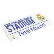 Plechová cedule Real Madrid