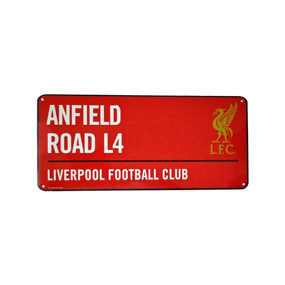 Plechová cedule Liverpool FC velká