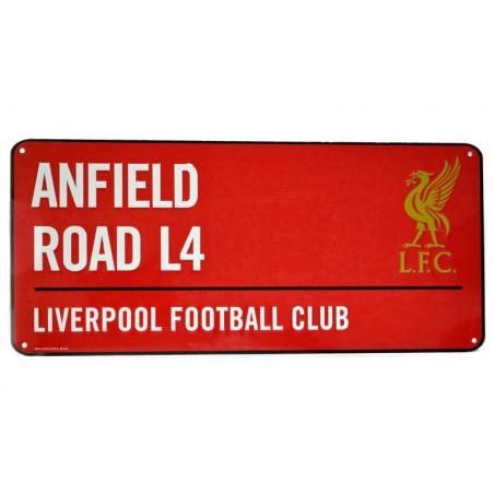 Plechová ceduľa Liverpool FC