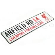 Plechová cedulka Liverpool FC