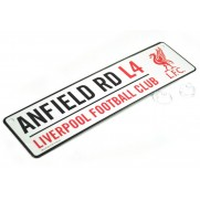 Plechová ceduľka Liverpool FC