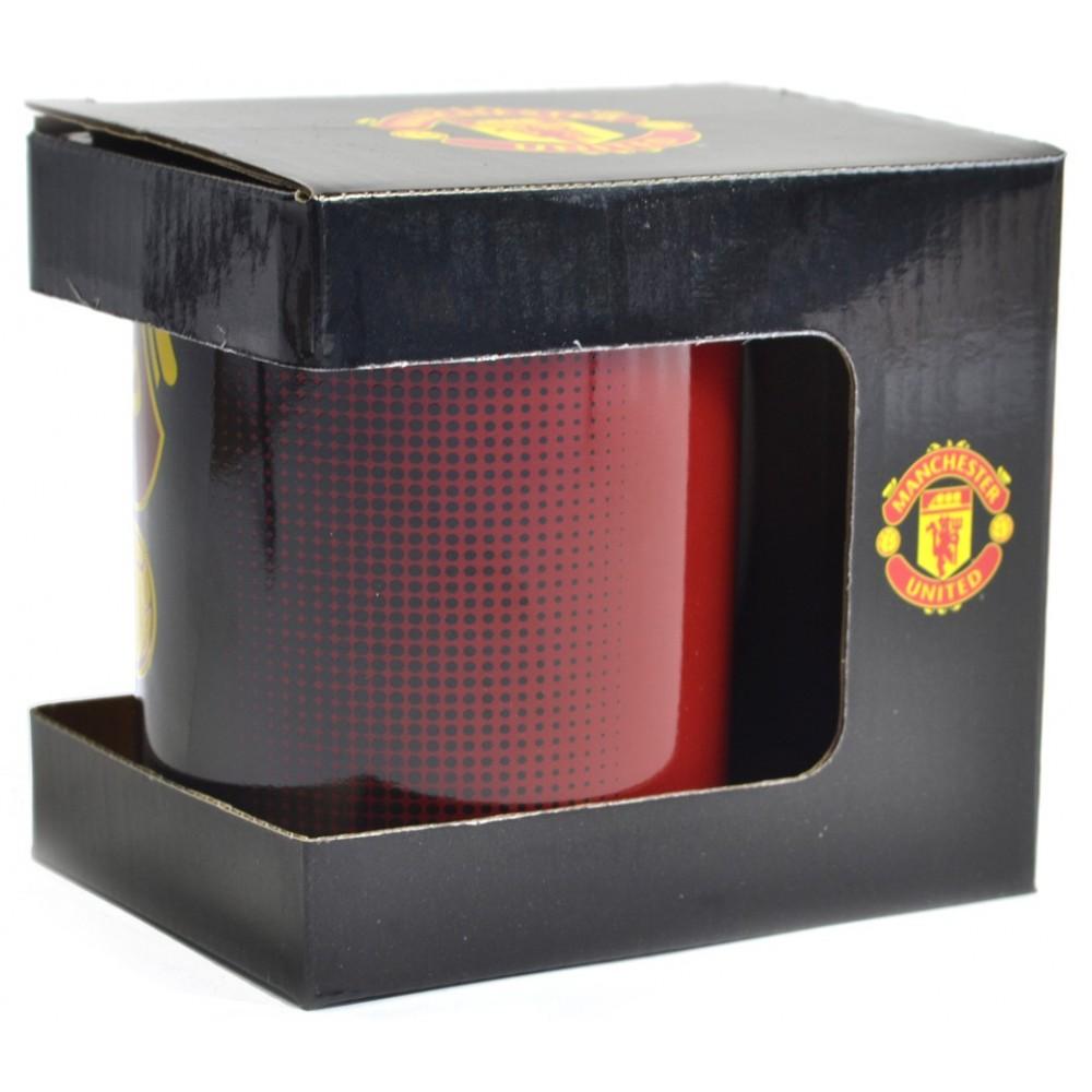 Hrnek Manchester United v obalu