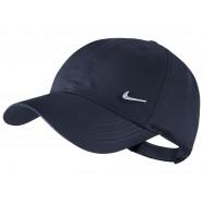Kšiltovka Nike tmavě modrá s kovovým znakem