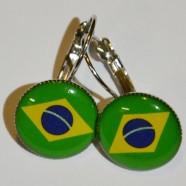 Náušnice Brazílie