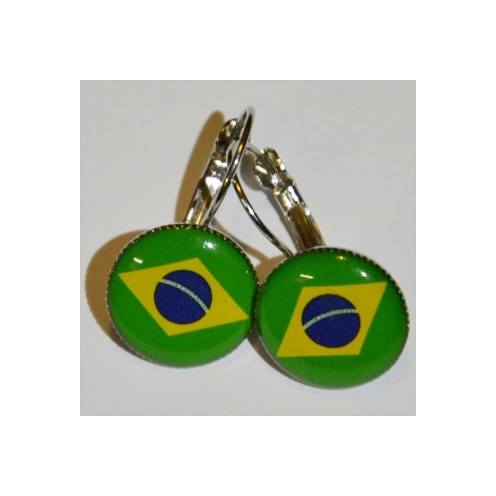 Náušnice Brazília
