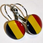 Náušnice Belgie