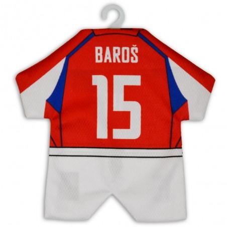 Minidres ČR Baroš 15 záda