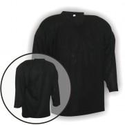Hokejový rozlišovací dres černý